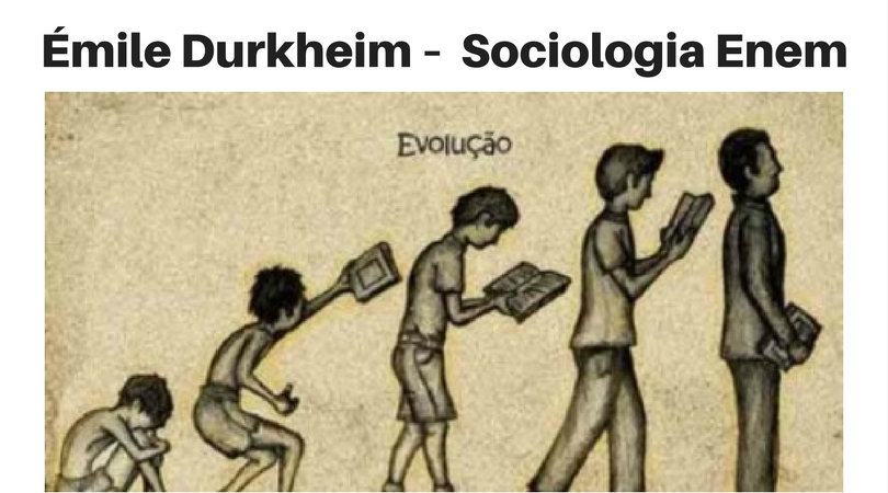Émile Durkheim – Revisão de Sociologia para o Enem