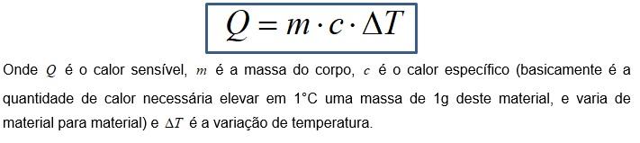 fórmula da termodinâmica