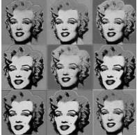 andy warhol - Marilyn Monroe - exercício