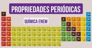 propriedades da tabela periodica