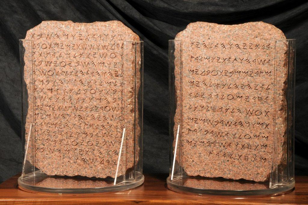 alfabeto dos fenícios
