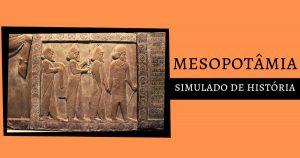 A CivilIização da Mesopotâmia