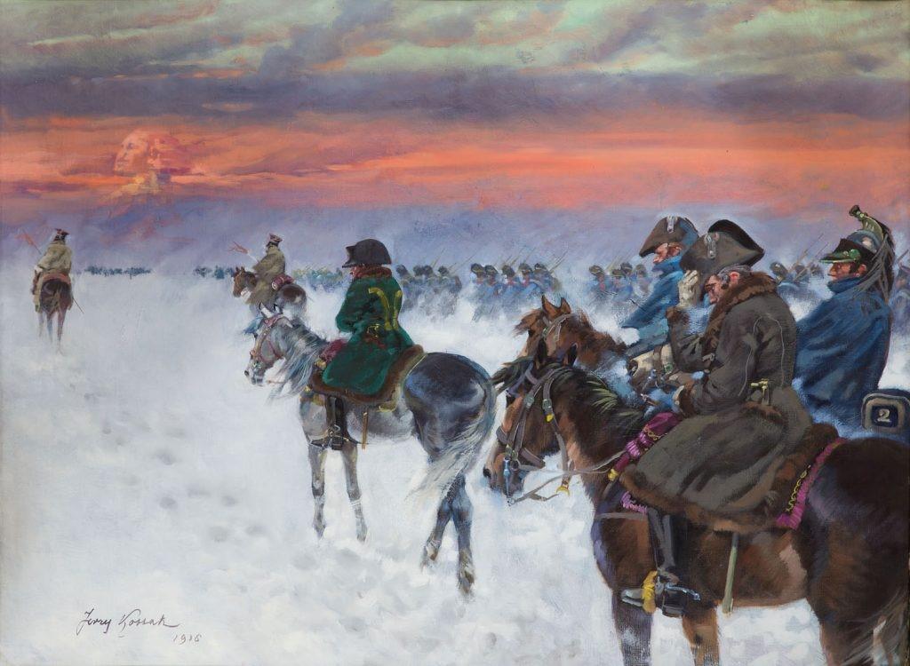 Retirada das tropas napoleônicas da Rússia - Era napoleônica