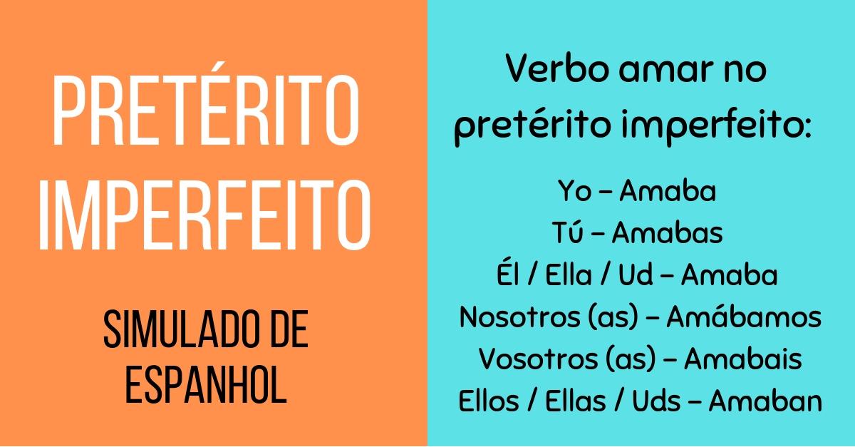 Pretérito Imperfeito do Indicativo - Simulado de Espanhol
