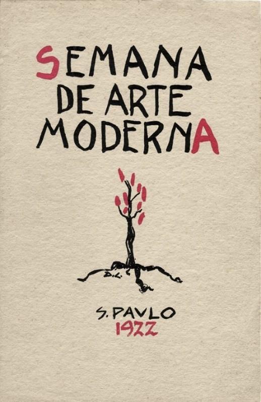 semana de arte moderna cartaz