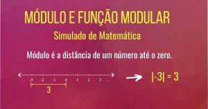 Simulado de função Modular e módulo