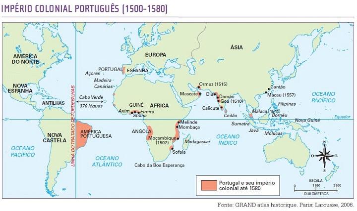 Tratado de Tordesilhas - descobrimento do Brasil