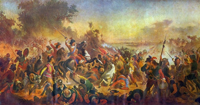 Batalha dos Guararapes - Invasão holandesa