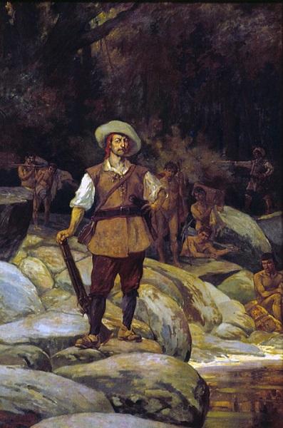 Pintura de bandeirantes