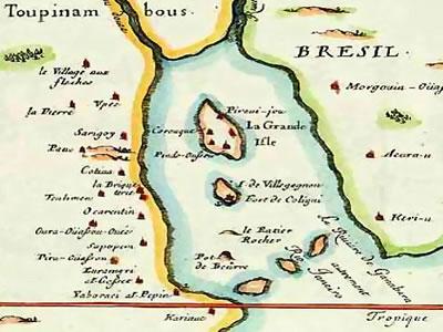 França Antártica - Invasão holandesa