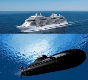 densidade da água e submarinos