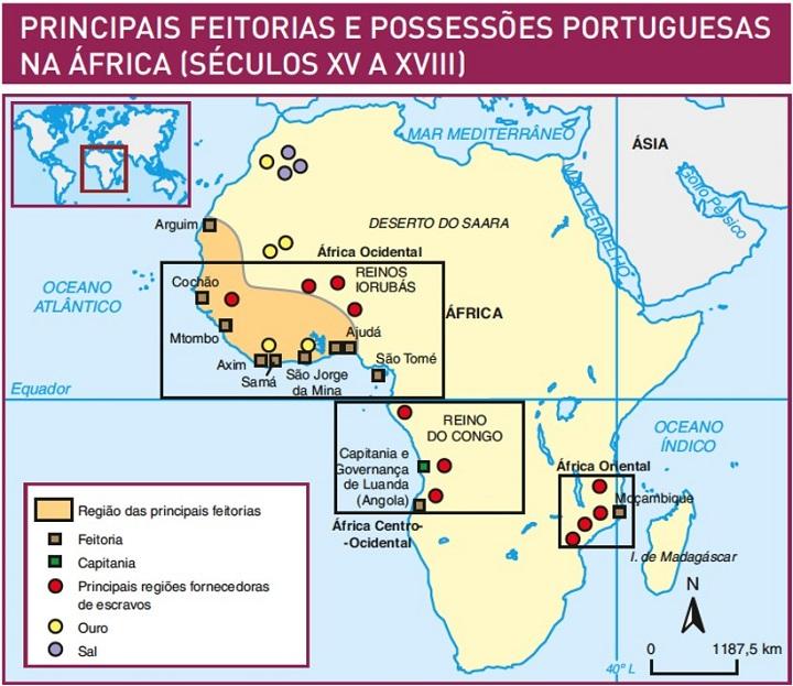 feitorias e possessões portuguesas na áfrica