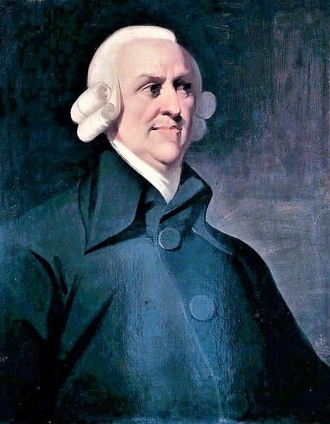 Adam Smith - Liberalismo econômico