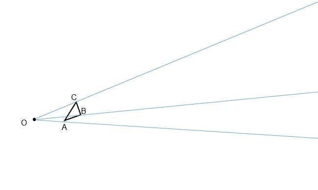 Exercício homotetia passo 2