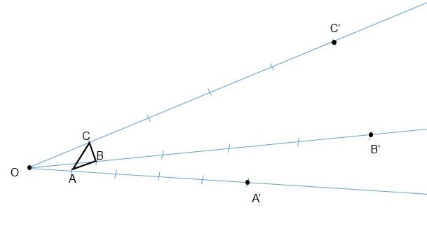Exercício homotetia passo 3