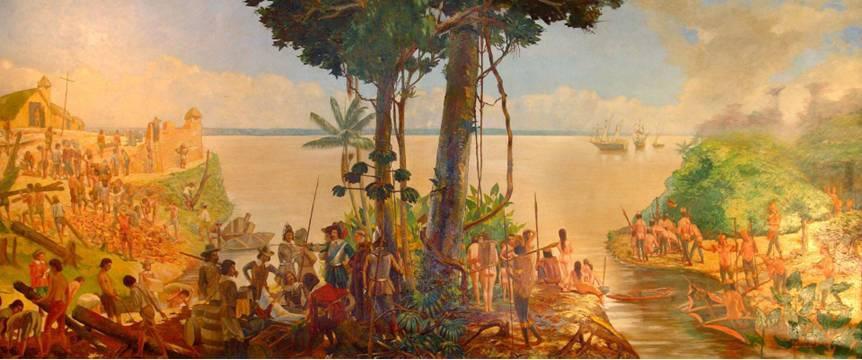 Fundação de Belém - Interiorização do Brasil