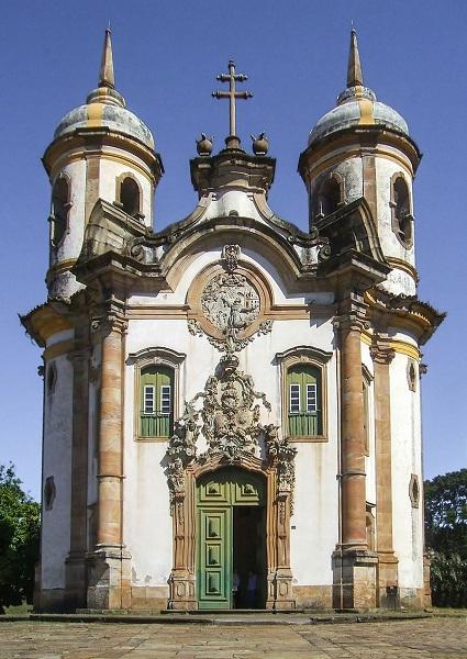 Igreja São Franciso de Assis - Sociedade mineradora