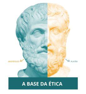 busto de platão e aristoteles