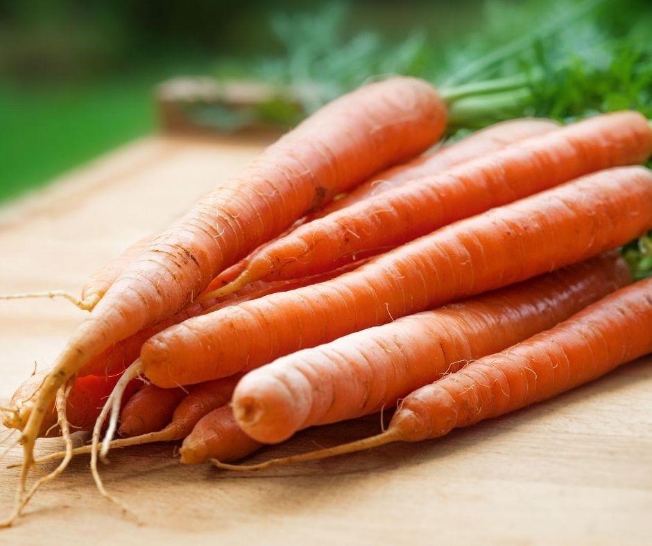 cenouras tuberosas