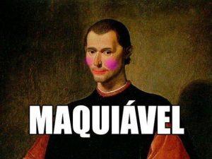 maquiavel e o estado moderno
