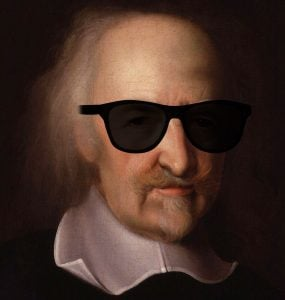 retrato thomas hobbes