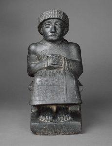 Estátua de Gudea mesopotamia
