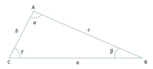 Triângulo - Lei dos Cossenos