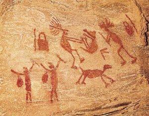 a dança primitiva