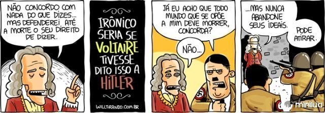charge sobre voltaire