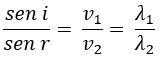 Equação de refração de ondas
