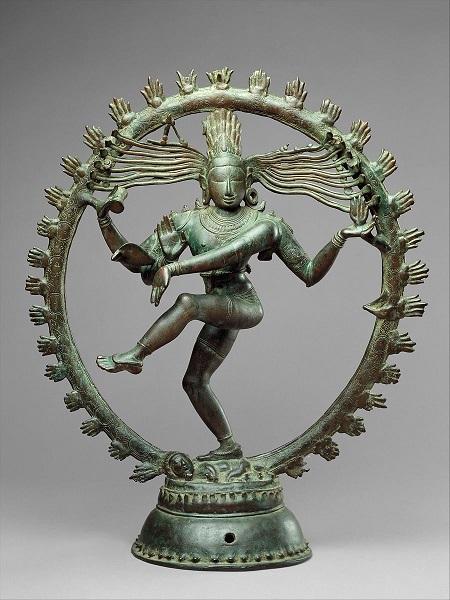 Escultura do deus Shiva - arte indiana