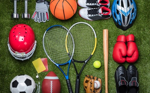Instrumentos utilizados em esportes coletivos