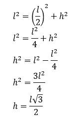 cálculo da altura