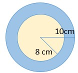 exercício de circunferência e círculo