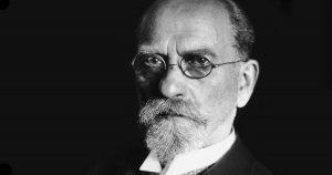 retrato de Husserl