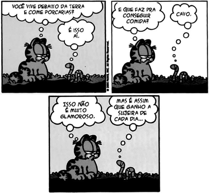 Tirinha do Garfield
