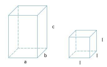 área e volume de um cubo