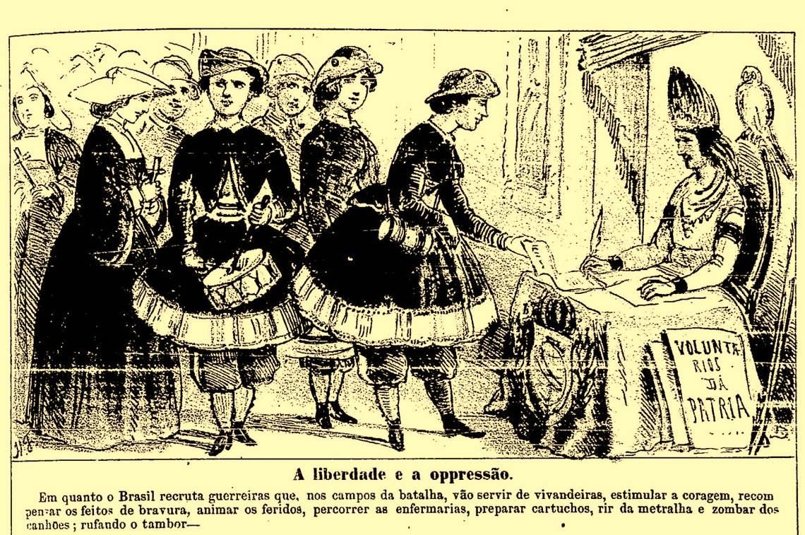 Guerra do Paraguai - Mulheres