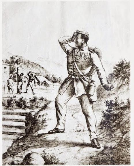 Guerra do Paraguai - soldado negro