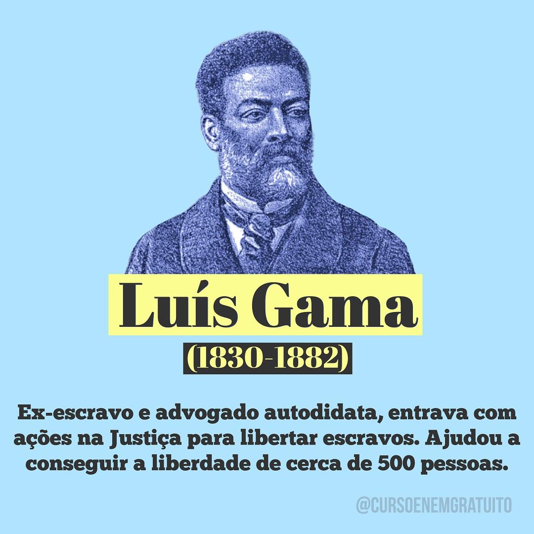 Luís Gama - Movimento abolicionista
