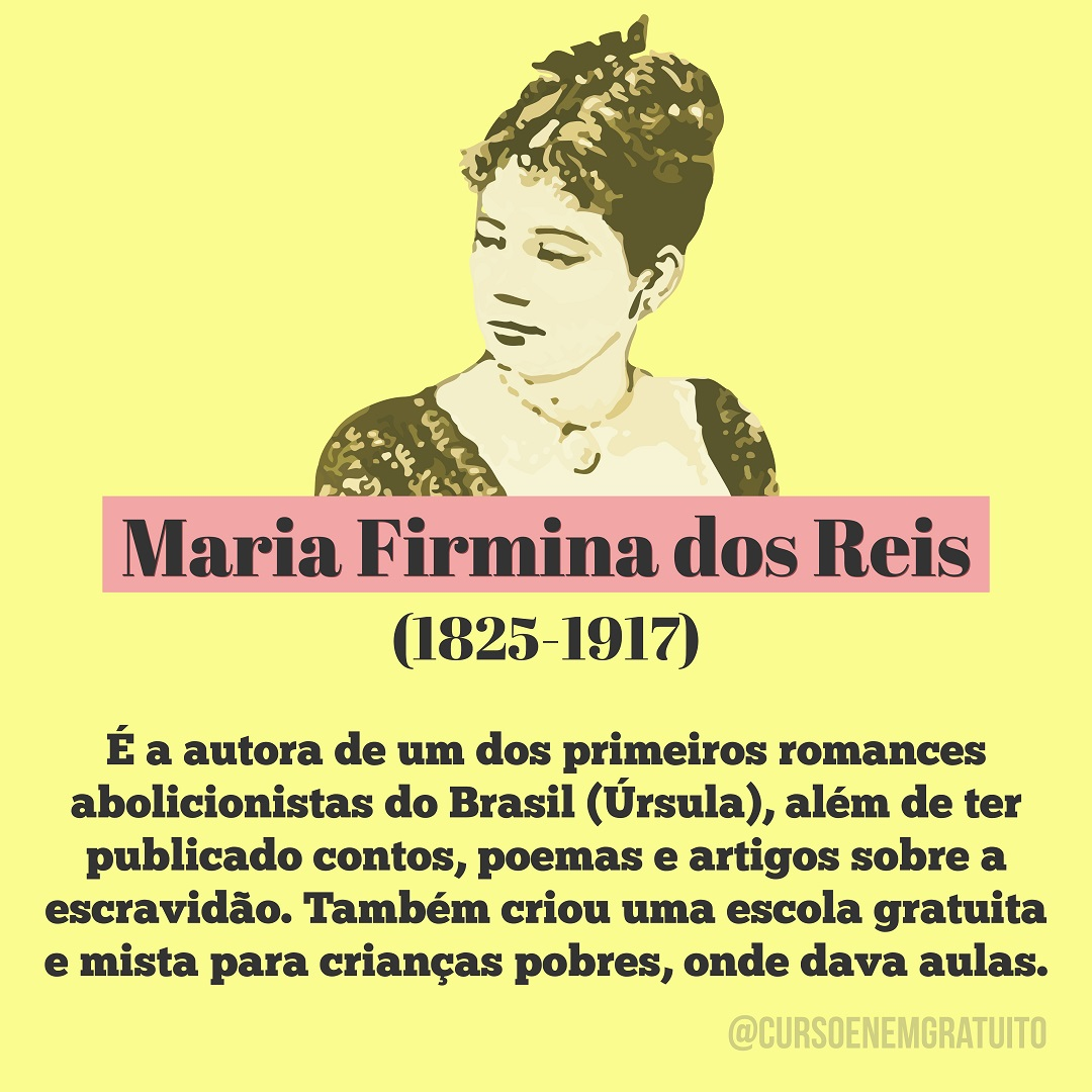 Maria Firmina - movimento abolicionista
