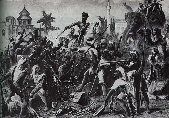 Revolta dos Cipaios - dominação britânica na Índia