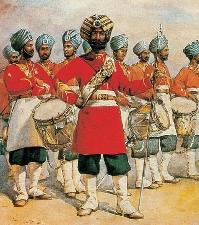 Sikhs - dominação britânica na Índia
