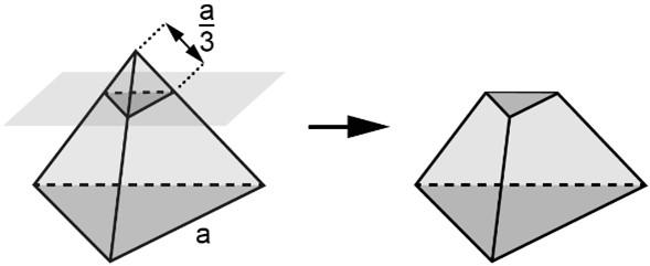 Tronco de pirâmide exercício do Enem