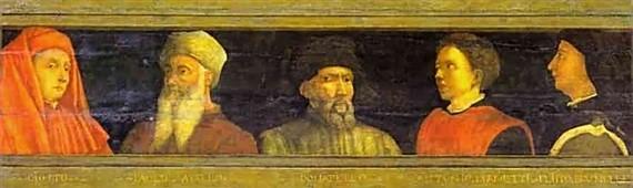 5 mestres da Renascença florentina - renascimento artístico
