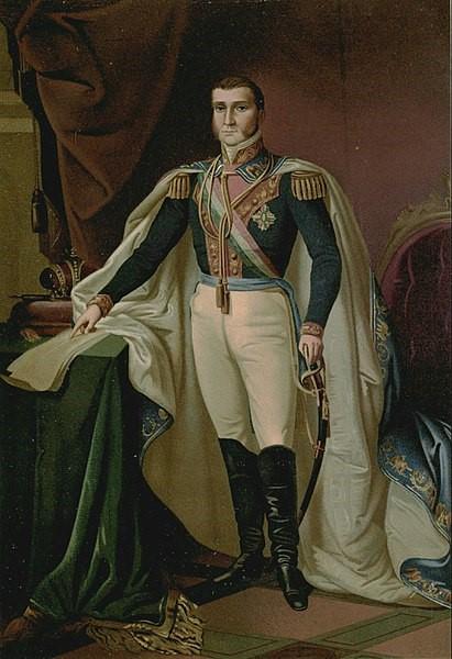 Augustin Iturbide, ou Augusto I, do México.