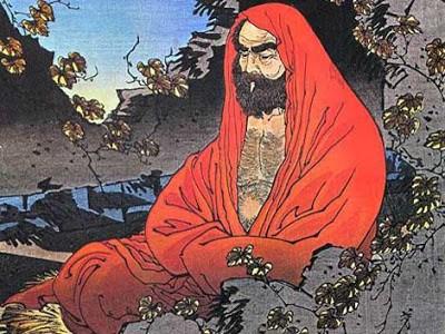Imagem representativa de Bodhidharma pai das artes marciais