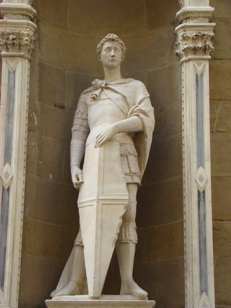 São Jorge, por Donatello - Renascimento Artístico