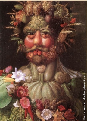 """Vertumnus"", 1591, Arcimboldo. Fonte: Arte Seed"