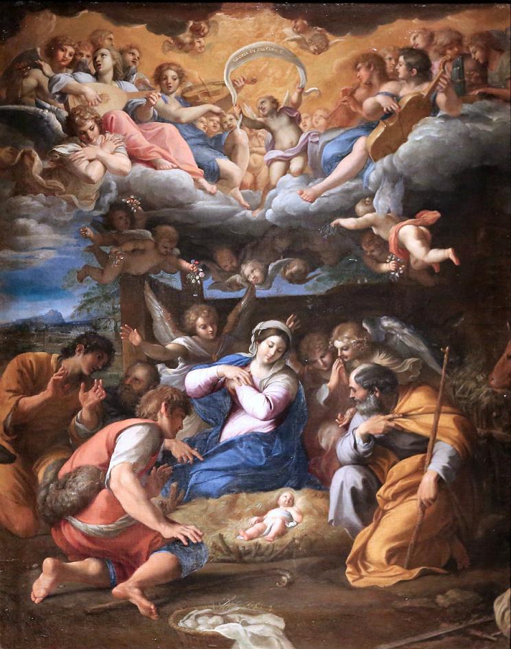 Adoração dos pastores - Arte Barroca